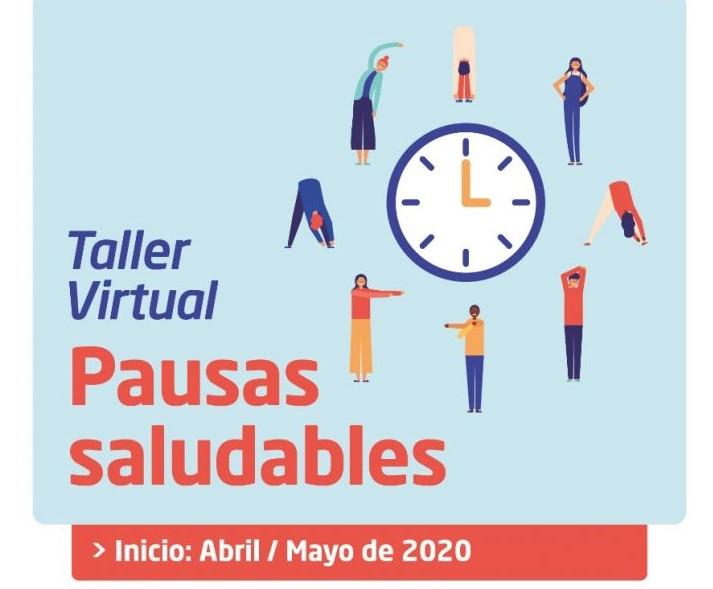 "Taller virtual sobre ""Pausas Saludables"""