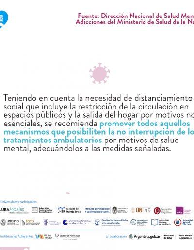 Recomendaciones para la asistencia y continuidad de la atención ambulatoria en salud mental durante la pandemia grupoA-2 02