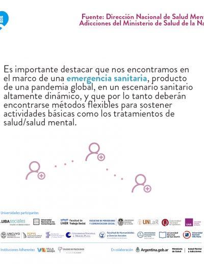 Recomendaciones para la asistencia y continuidad de la atención ambulatoria en salud mental durante la pandemia grupoA-2 06