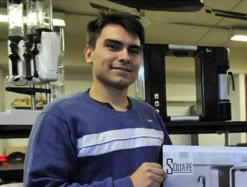 Estudiante de la UNVM desarrolló cabina sanitizante