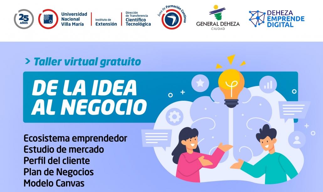 «De la idea al negocio», nueva formación de Extensión