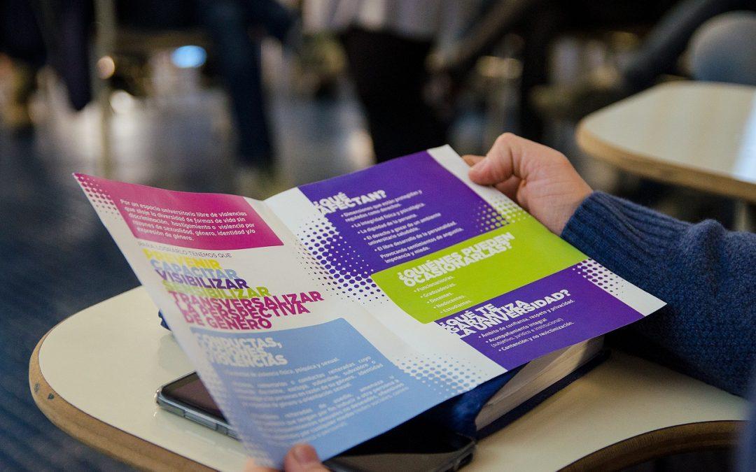 Aniversario del Protocolo contra la violencia de género en la UNVM