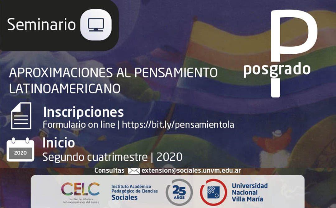 Seminario de posgrado sobre Pensamiento Latinoamericano