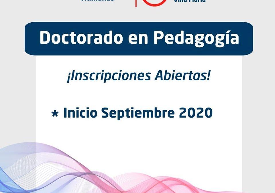 """Nueva cohorte del """"Doctorado en Pedagogía"""""""