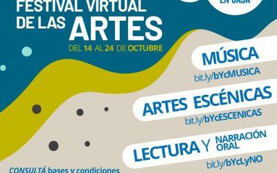 Convocan a artistas para el primer «QuedArte en Casa»