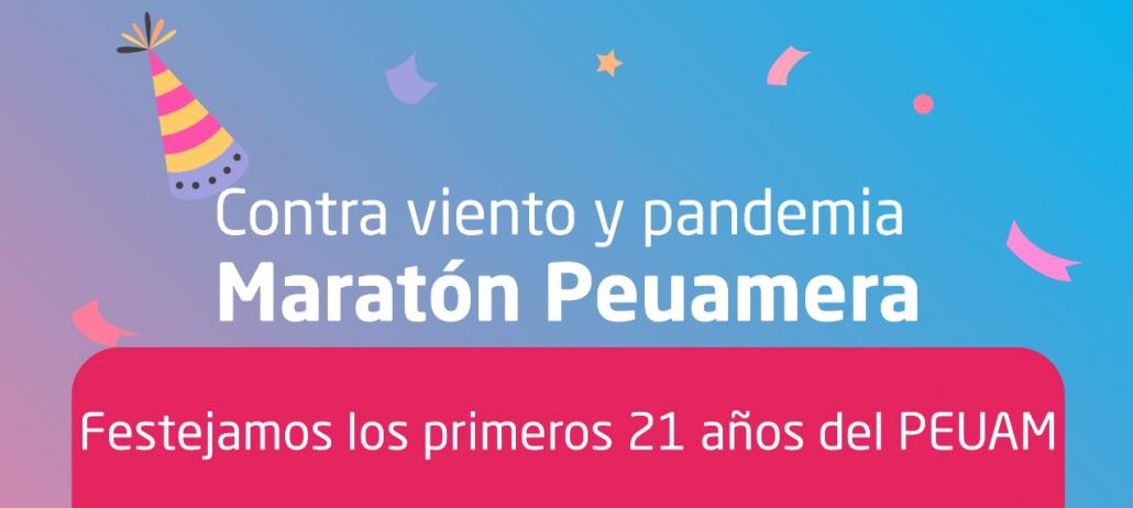 PEUAM: celebración virtual por sus 21 años