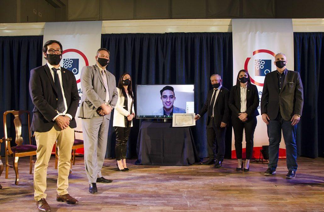 Ceremonia virtual de Humanas: 45 graduadas y graduados