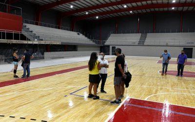 Últimos detalles para la inauguración de Salón Deportivo