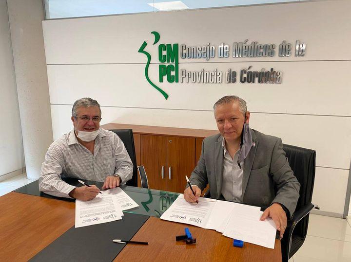 Convenio con el Consejo Médico de Córdoba