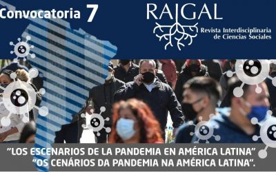 Convocatoria para la presentación de artículos sobre la Pandemia en América Latina