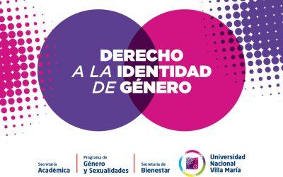 Reconocimiento a la identidad de género