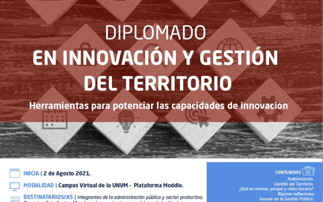 Diplomado en Innovación y Gestión del Territorio