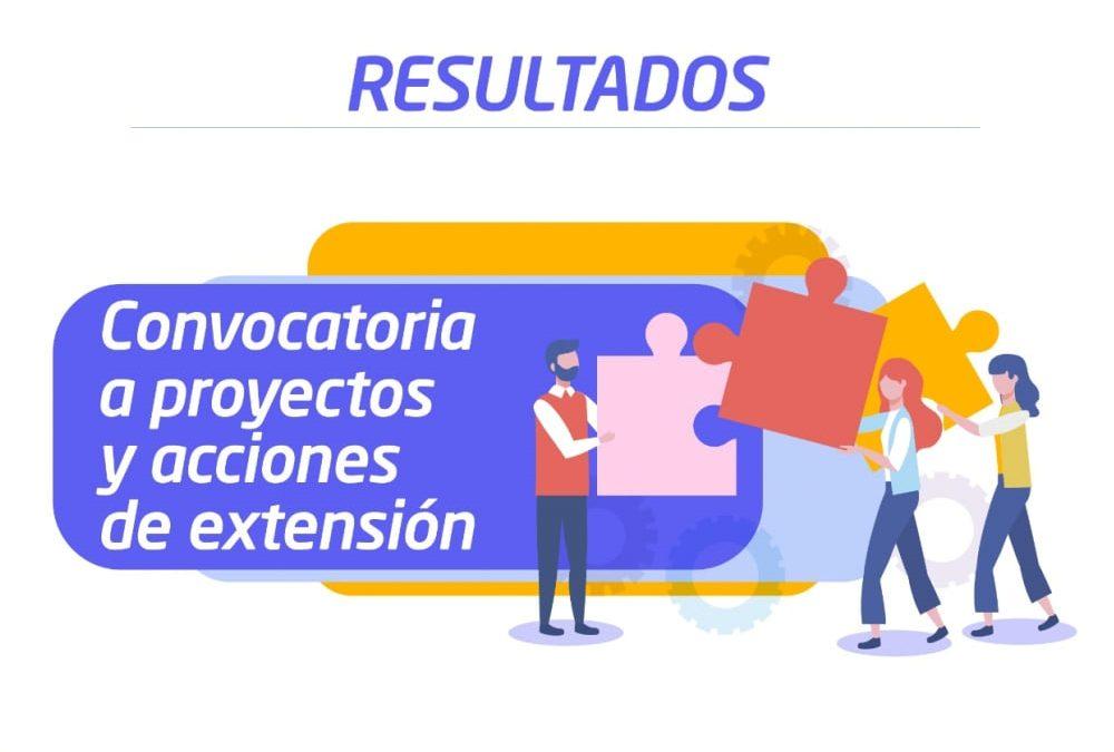Extensión: resultados de la Convocatoria 2021