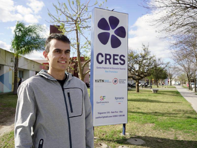«El CRES fue un puerta que se abrió y no podía desaprovecharla»