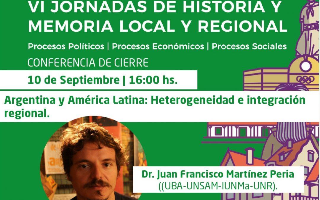 VI Jornadas de Historia y Memoria Local y Regional
