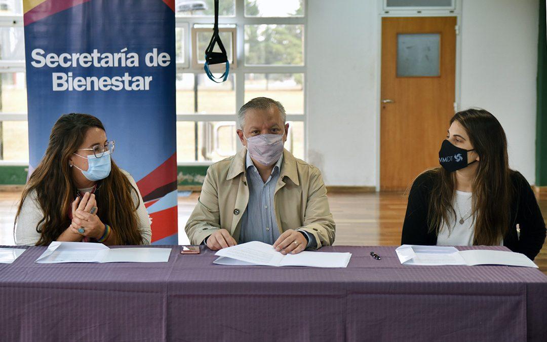 Firma de convenio con el Ente de Deporte y Turismo de Villa María