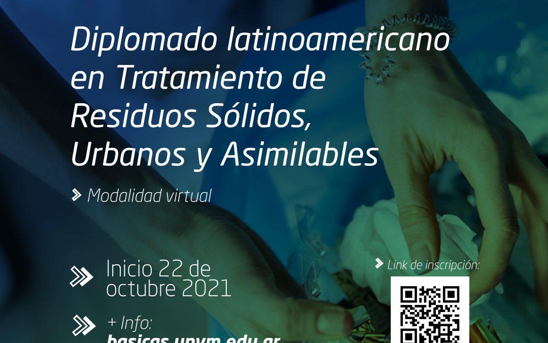 Diplomado latinoamericano sobre tratamiento de residuos